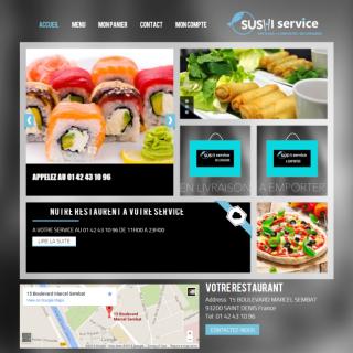 Sushi Service Saint Denis France